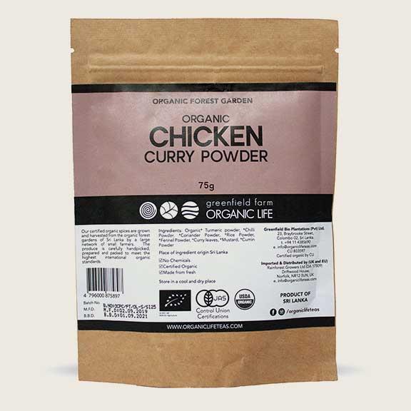 Curry Powder Chicken