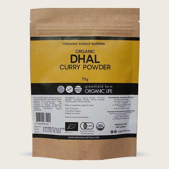 Curry Powder Dhal