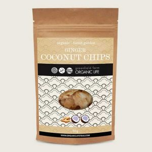 Coconut chips with  Ginger delicious
