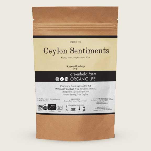 Organic Life Ceylon Sentiments 22.5g