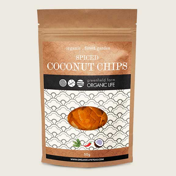 Coconut Chips with Curry Leaves