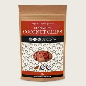 Coconut chips with Cinnamon delicious