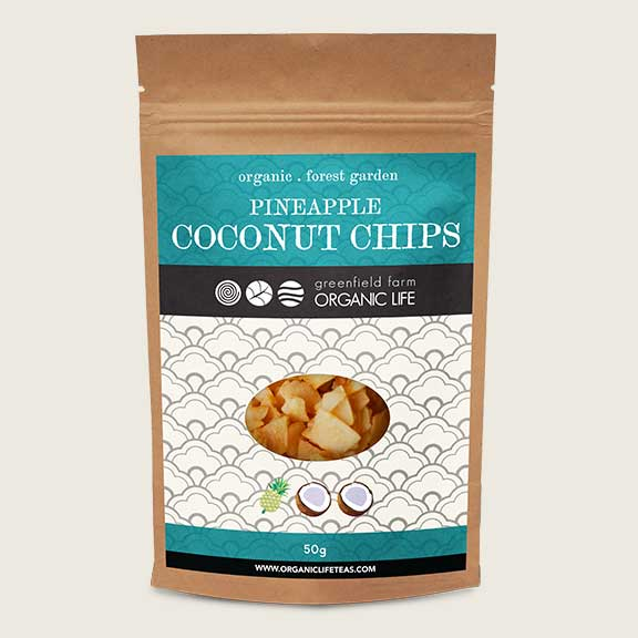 Coconut chips withPineapple delicious