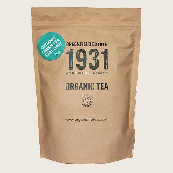 Organic Life Green Tea Earl Grey 100g