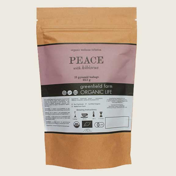 Organic Life Peace with Hibiscus 22.5g