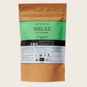 Organic Life Relax with Cinnamon 22.5g