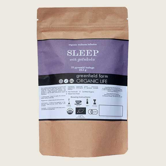 Organic Life Sleep with Gotukola 22.5g