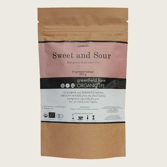 Organic Life Sweet & Sour 22.5g