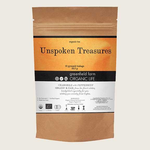 Organic Life Unspoken Treasures 30g